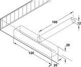 Plankdrager voor Wandplank_