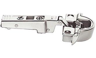 Blum aluminium kaderscharnier voorliggend