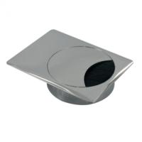 Metalen kabeldoorvoer rechthoekig