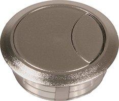Kabeldoorvoer 60 mm, chroom