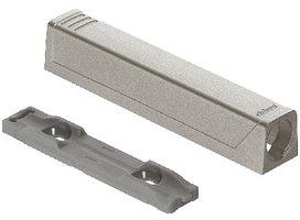 Tip-On adapterplaat lang, nikkel gelakt