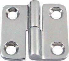 Tweedelige deurscharnier (rechts), 37 x 37 mm