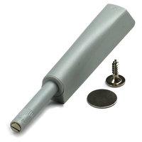 K-PUSH Lichtgrijs met magneet, opbouw 37 mm