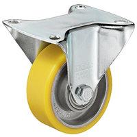 Gele bokrol zonder rem, 80mm