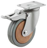 Design zwenkwiel met rem, 100mm