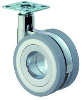 Design-wiel 75 mm, 50 kg zonder rem