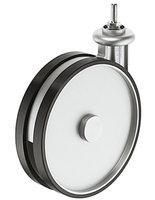 Design zwenkwielen, zonder rem 2 stuks, 180 mm