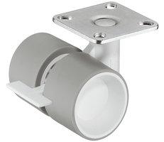 Design wiel met rem, 40mm