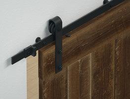 Industrieel schuifdeursysteem voor deuren tot 1 meter breed
