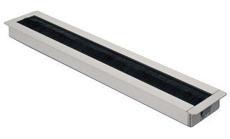 Kabeldoorvoer zilverkleurig 300x57mm