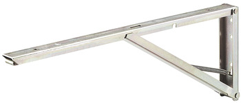 Inklapbare plankdrager, 40 kg per paar