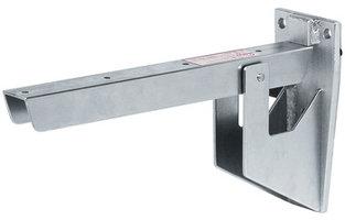 Hebgo inklapbare plankdrager voor zitbank 380 mm, met veer, 500 kg