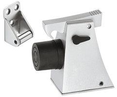Deurvanger Zilverkleurig Gemoffeld 105 mm
