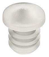 Deurstopper transparant voor boorgat, 5 mm (100 stuks)