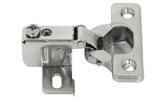 Scharnier voor dunne deur vanaf 12 mm dik