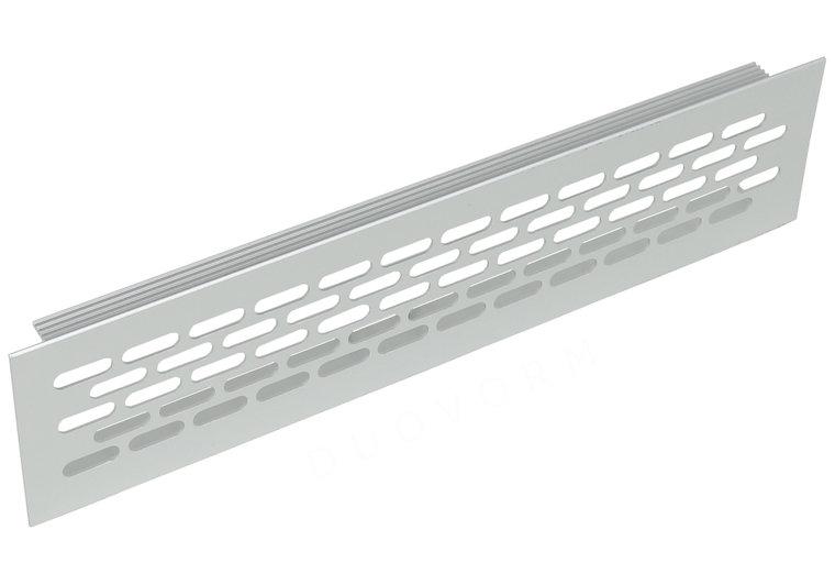Aluminium ventilatierooster 245x59,8 mm