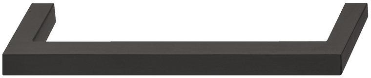 Meubelgreep van RVS, zwart 138 mm