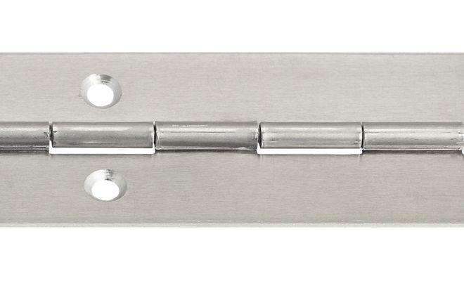 Pianoscharnier Aluminium 32x1, 3500 mm