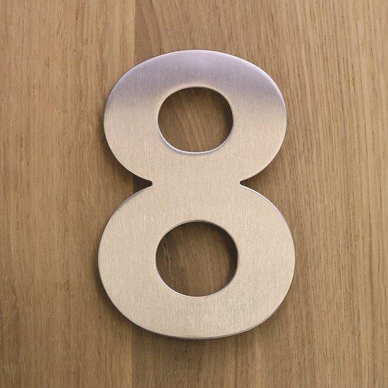 RVS huisnummer 8
