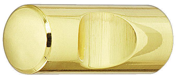 Meubelknop Messing gepolijst 11 mm