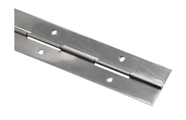 Pianoscharnier RVS 25x0.8, 1000 mm