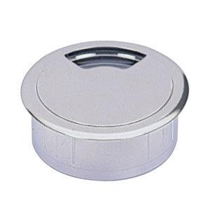 Kabeldoorvoer 80 mm chroom