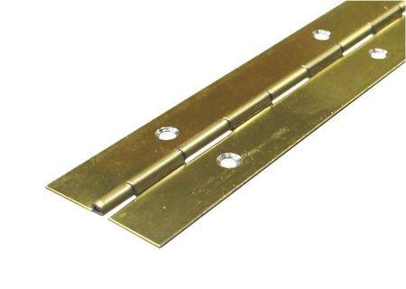 Pianoscharnier Messing 40x0.8, 3500 mm