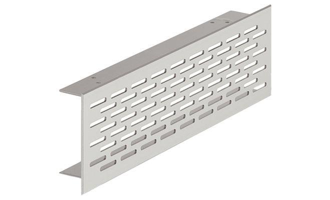 Ventilatierooster aluminium 500 x 70 mm