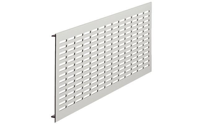 Ventilatierooster aluminium 480 x 150 mm