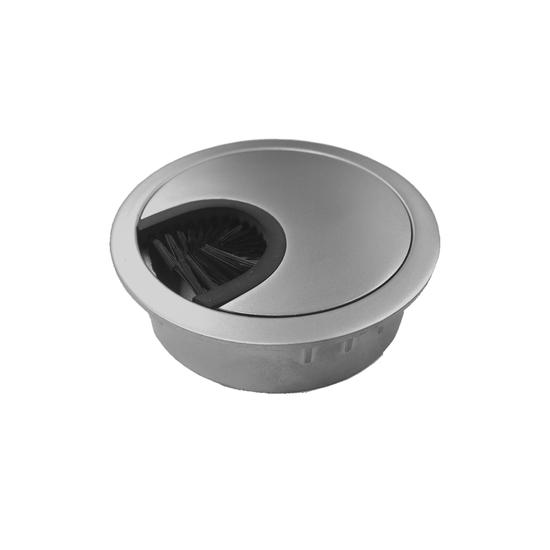 Kabeldoorvoer RVS-look, 60 mm
