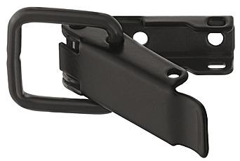 Spansluiting zwart 74 mm