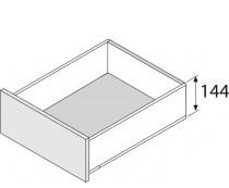 Blum legrabox RVS, 144 mm
