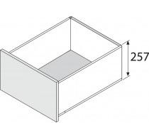 Blum legrabox RVS,  257 mm