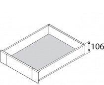 Legrabox binnenlade M, 106 mm RVS