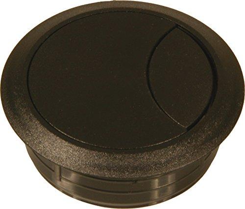 Kabeldoorvoer 60 mm, zwart