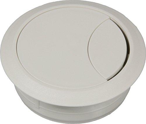 Kabeldoorvoer 80 mm, wit