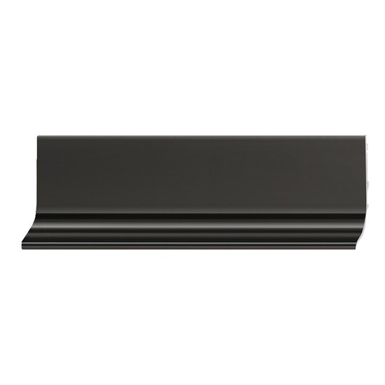 Greeplijst L-profiel aluminium (2,5 meter)