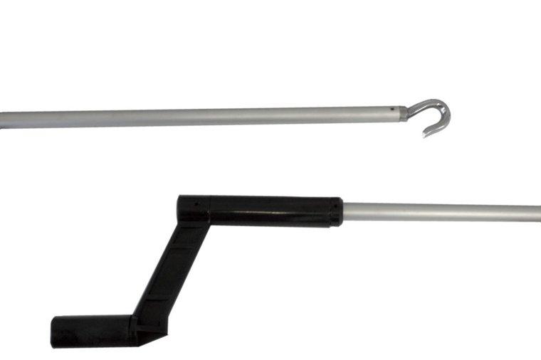 Aluminium bedieningstok, 1630 mm