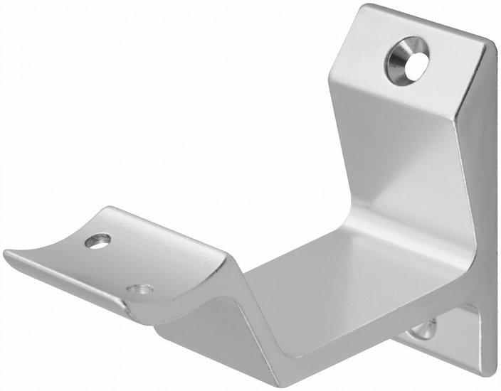 Leuninghouder profiel hol zilver