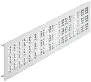 Ventilatierooster aluminium, zilverkleurig, 1000 x 100 mm