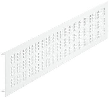 Ventilatierooster aluminium, wit, 500 x 100 mm