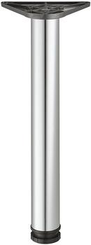 Tafelpoot 710 mm, verchroomd gepolijst