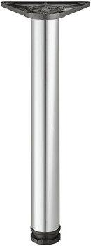 Tafelpoot 710x50 mm, verchroomd gepolijst