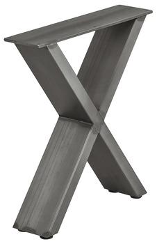 Bankonderstel vorm X, ruw staal