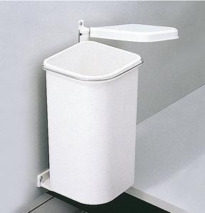 Afvalbak achter draaideur 5L Wit, kastbreedte 300 mm