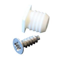 Plug + schroef M10 (10 stuks)
