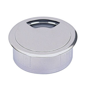 Kabeldoorvoer 60 mm chroom