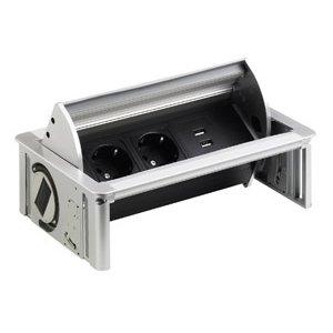 Inbouwstopcontact Tippo Schuko D 2x USB