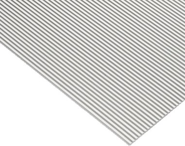 Witte antislipmat, 474 x 2000 mm