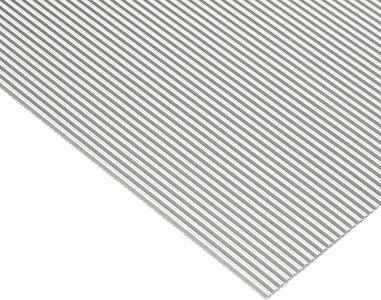 Witte antislipmat, 624 x 2000 mm